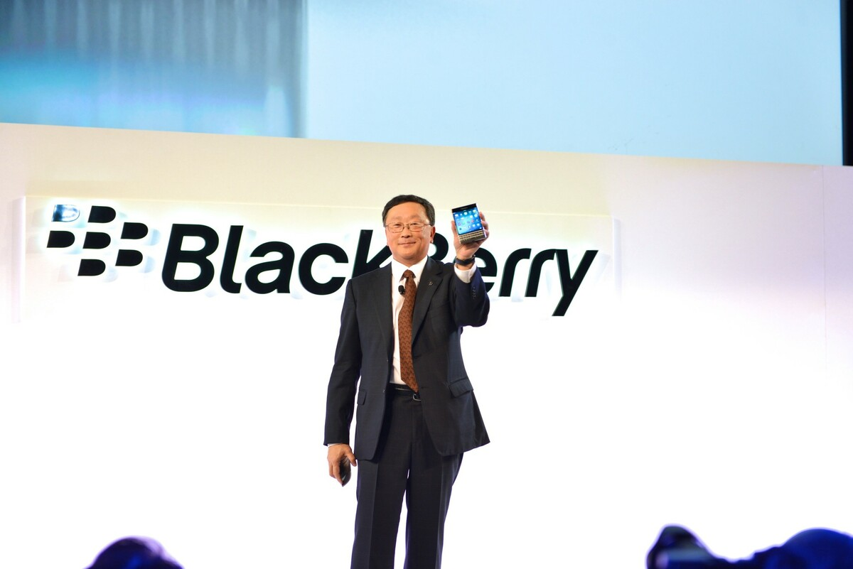 BlackBerry is cash flow positive and growing the software business