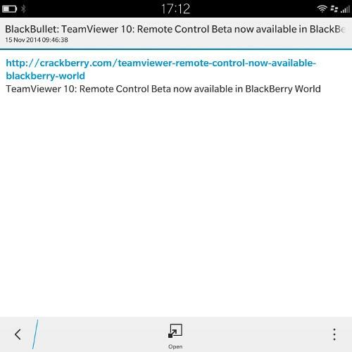 BlackBullet Hub Notification