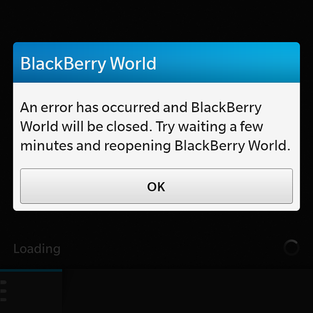 BlackBerry World Recovery Tool