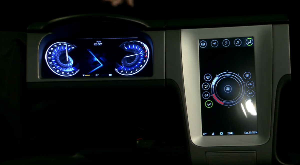 NVIDIA Drive CX is an all-new digital cockpit for your vehicle ... | {Auto cockpit 24}