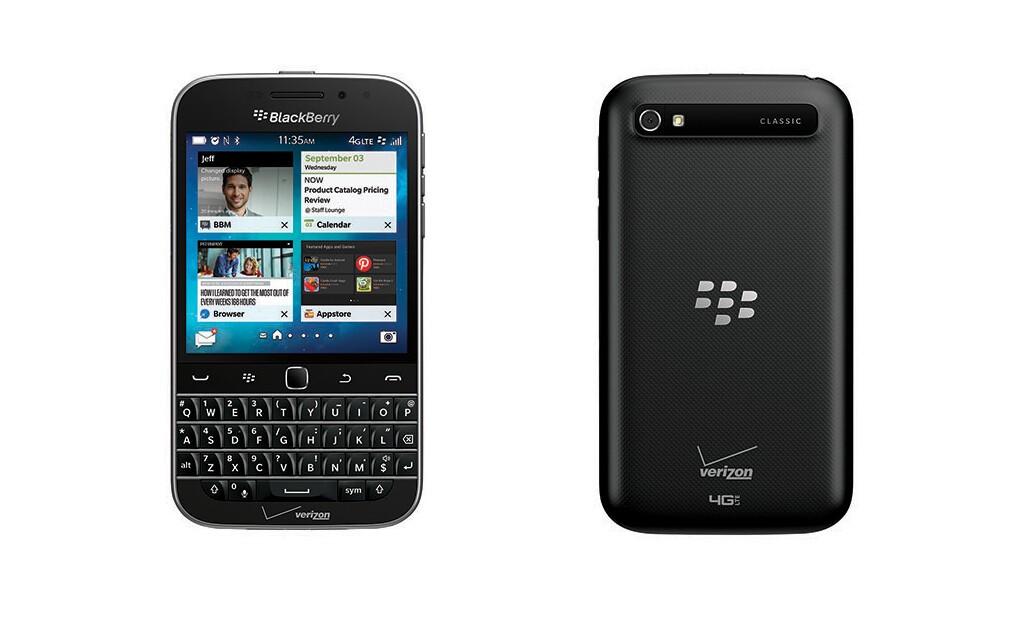Verizon confirms BlackBerry Classic sales start Feb. 26