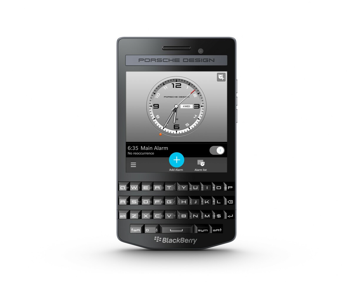 Blackberry Introduces The Porsche Design P 9983 Graphite Crackberry Com