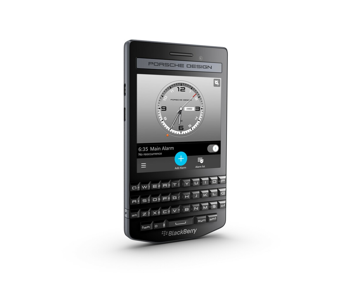 Blackberry Introduces The Porsche Design P 9983 Graphite