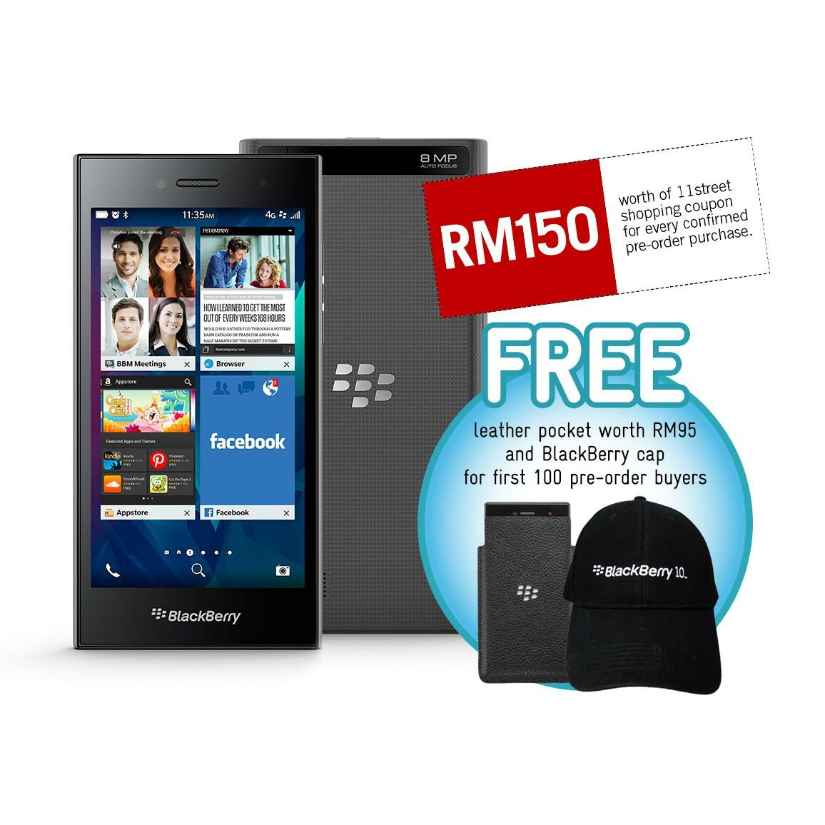 BlackBerry announces availability of the BlackBerry Leap for Malaysia
