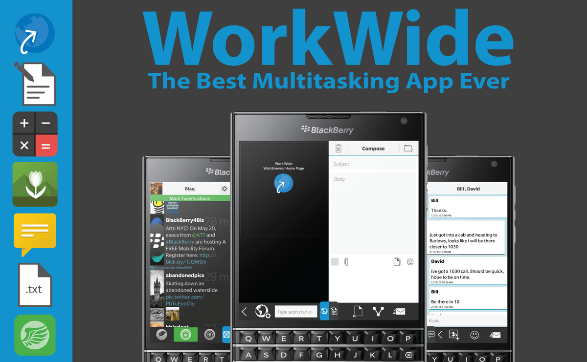 Work Wide for BlackBerry 10 Updated