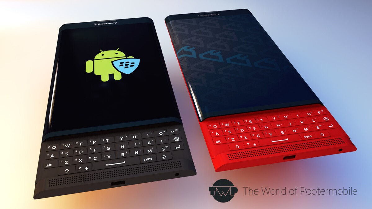 Blackberry Venice Slider Rendered In Multiple Colors