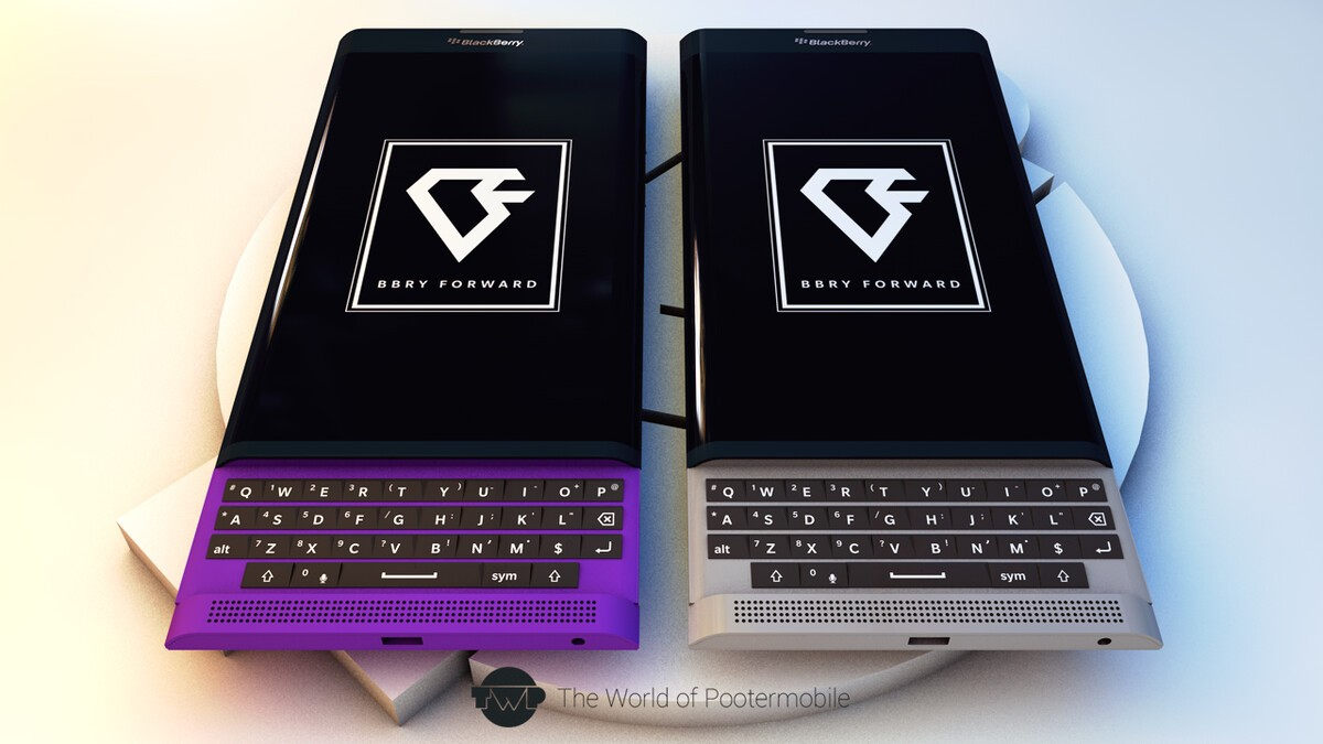 BlackBerry Venice Slider