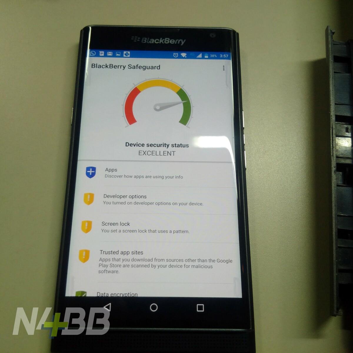 BlackBerry Safeguard