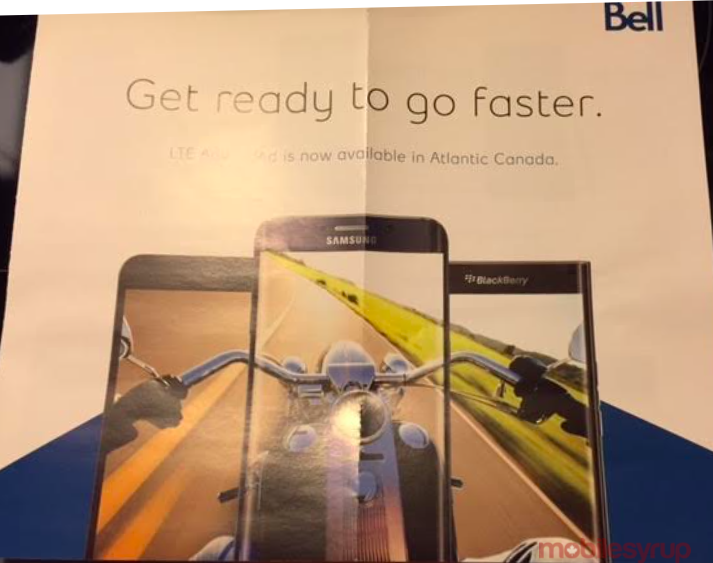 Bell begins advertising the Priv by BlackBerry