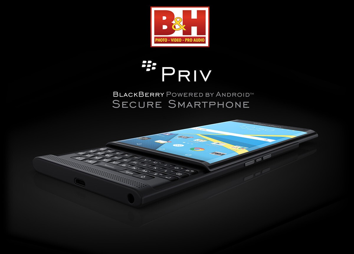 B&H Photo now taking pre-orders for the BlackBerry Priv