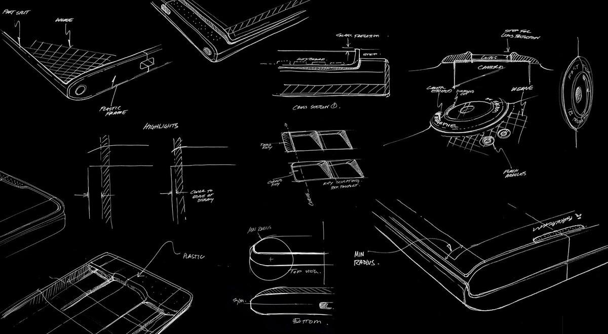 BlackBerry Priv design