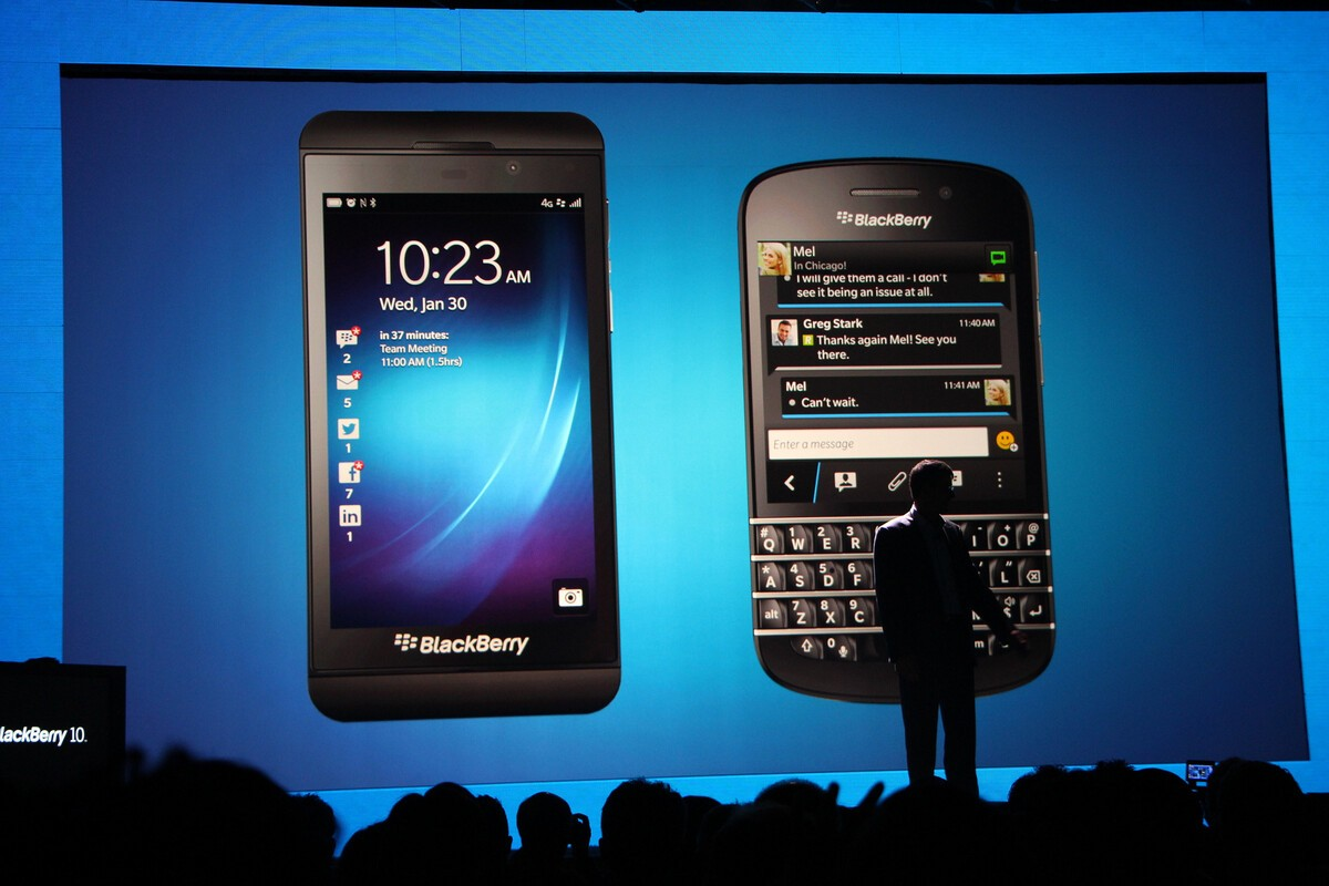BlackBerry 10 officially launched three years ago today