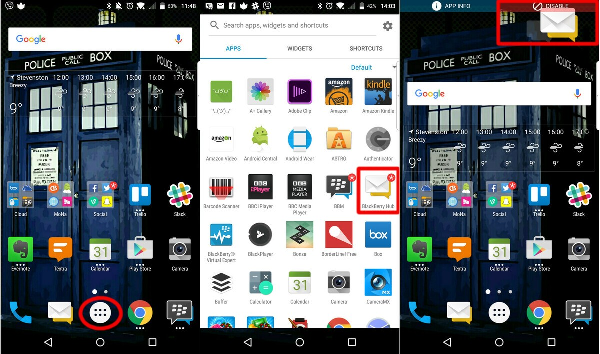 How To Disable Preinstalled Apps And Delete Downloaded Apps On