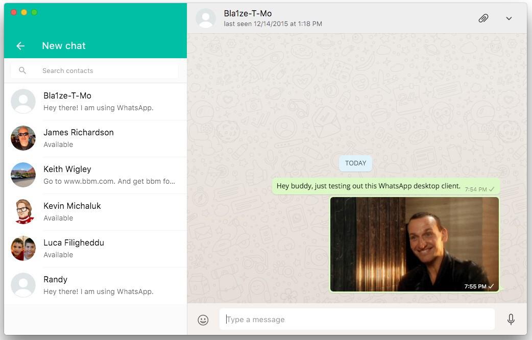 WhatsApp introduces their desktop app