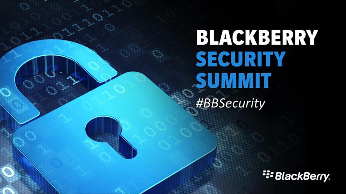 BlackBerry Security Summit 2016 Live Blog!