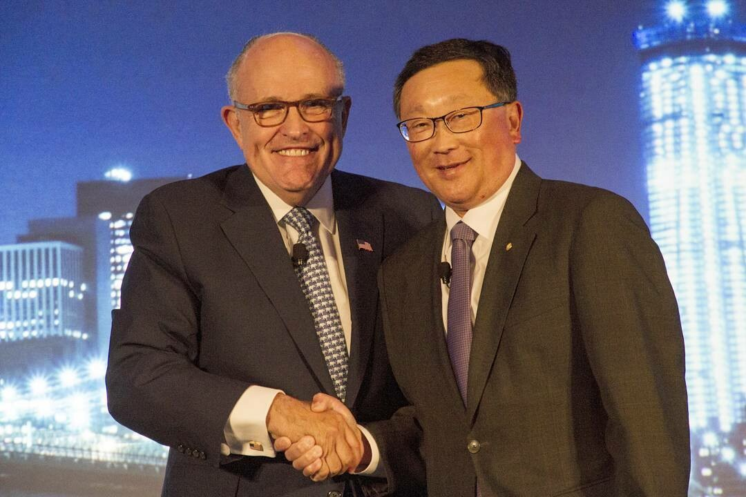 BlackBerry and Giuliani Partners team up to combat cyber threats