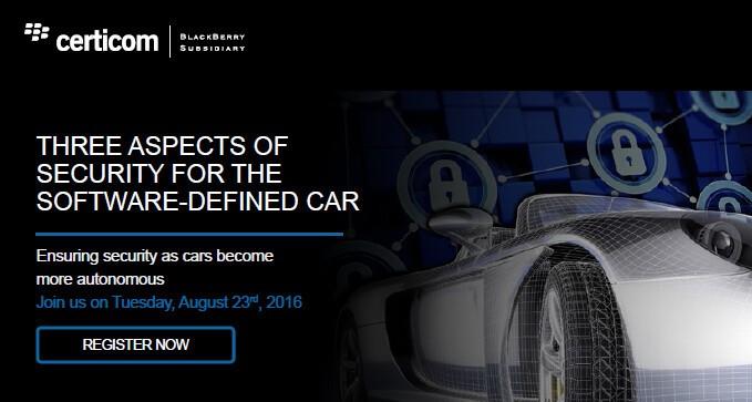 Cùng tìm hiểu làm cách nào để Certicom đảm bảo an toàn để xe hơi trở nên tự chủ hơn