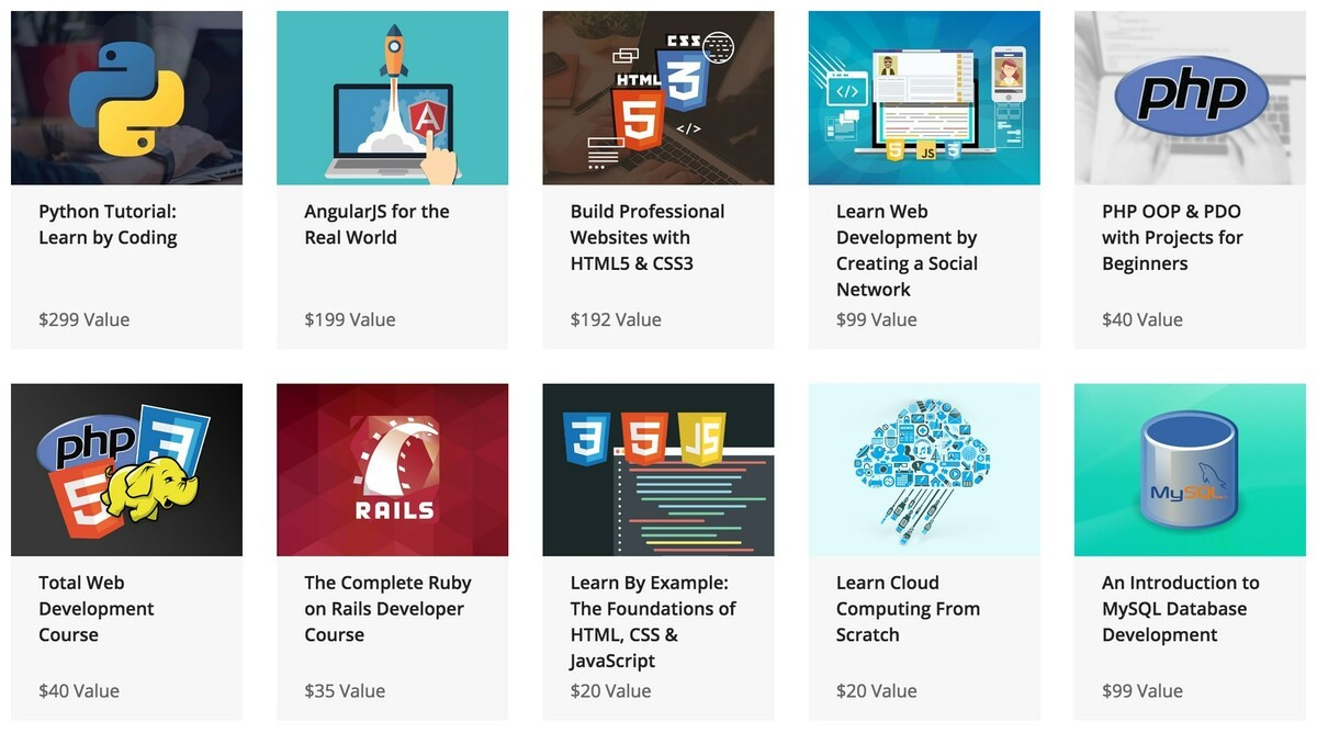 The Complete 2016 Learn to Code Bundle