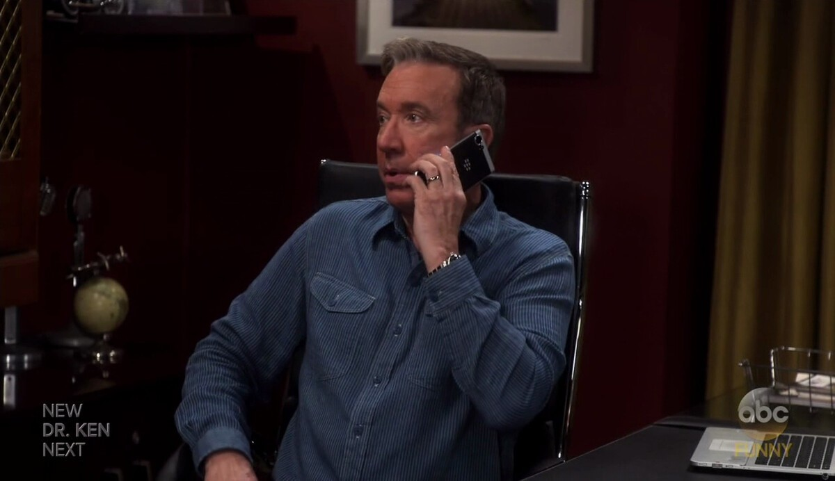 BlackBerry 'Mercury' makes an appearance on Last Man Standing