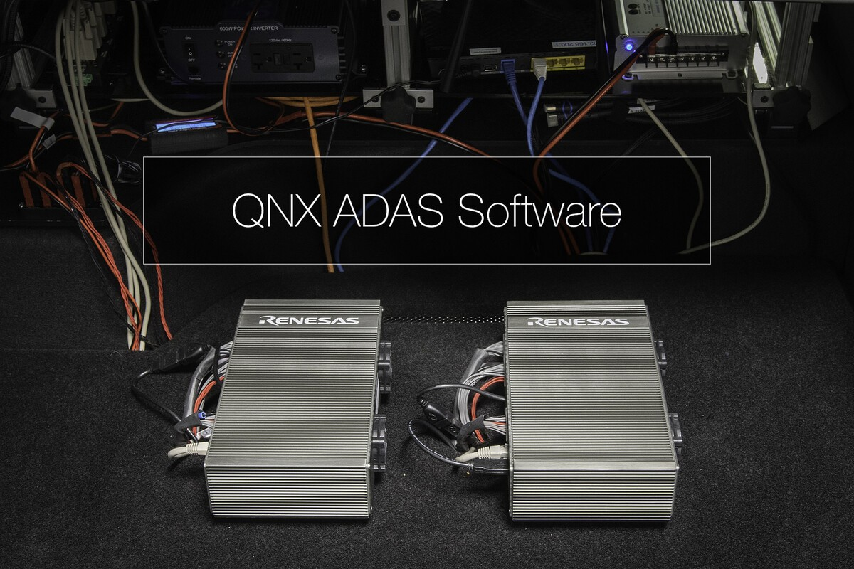 BlackBerry QNX and Renesas collaborate on autonomous driving technology platform