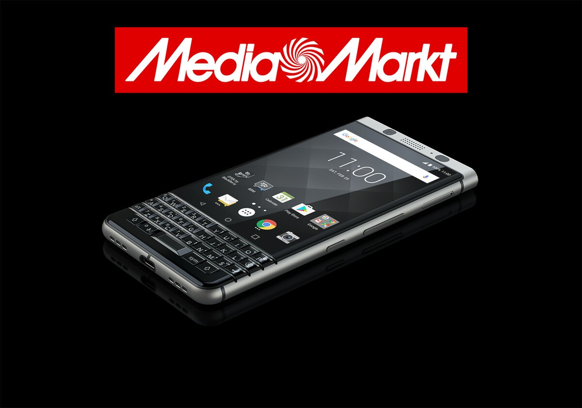 Media Markt now taking pre-orders for the BlackBerry KEYone!