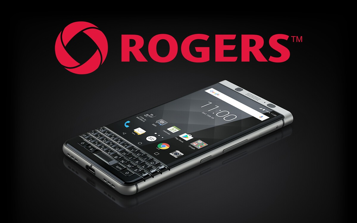 Rogers joins Bell and TELUS in offering the BlackBerry KEYone starting in April