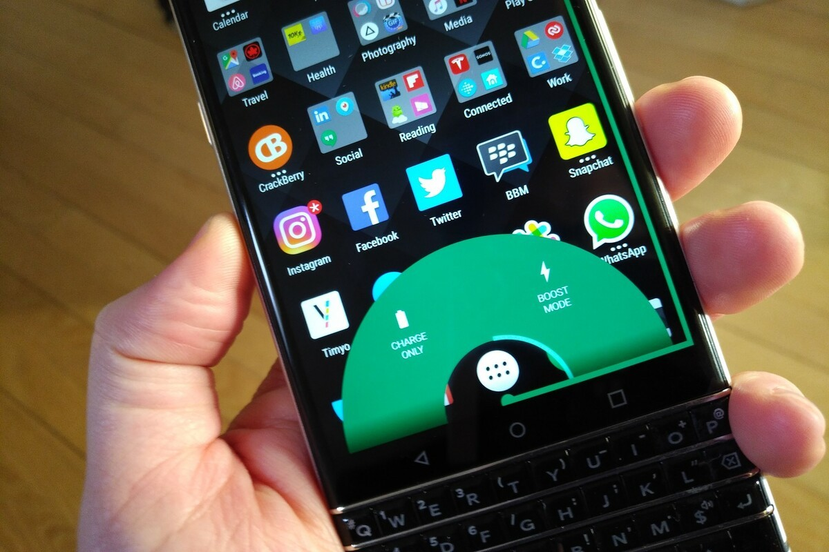 BlackBerry KEYone Review – Pushes All The Right Buttons blackberry keyone boost