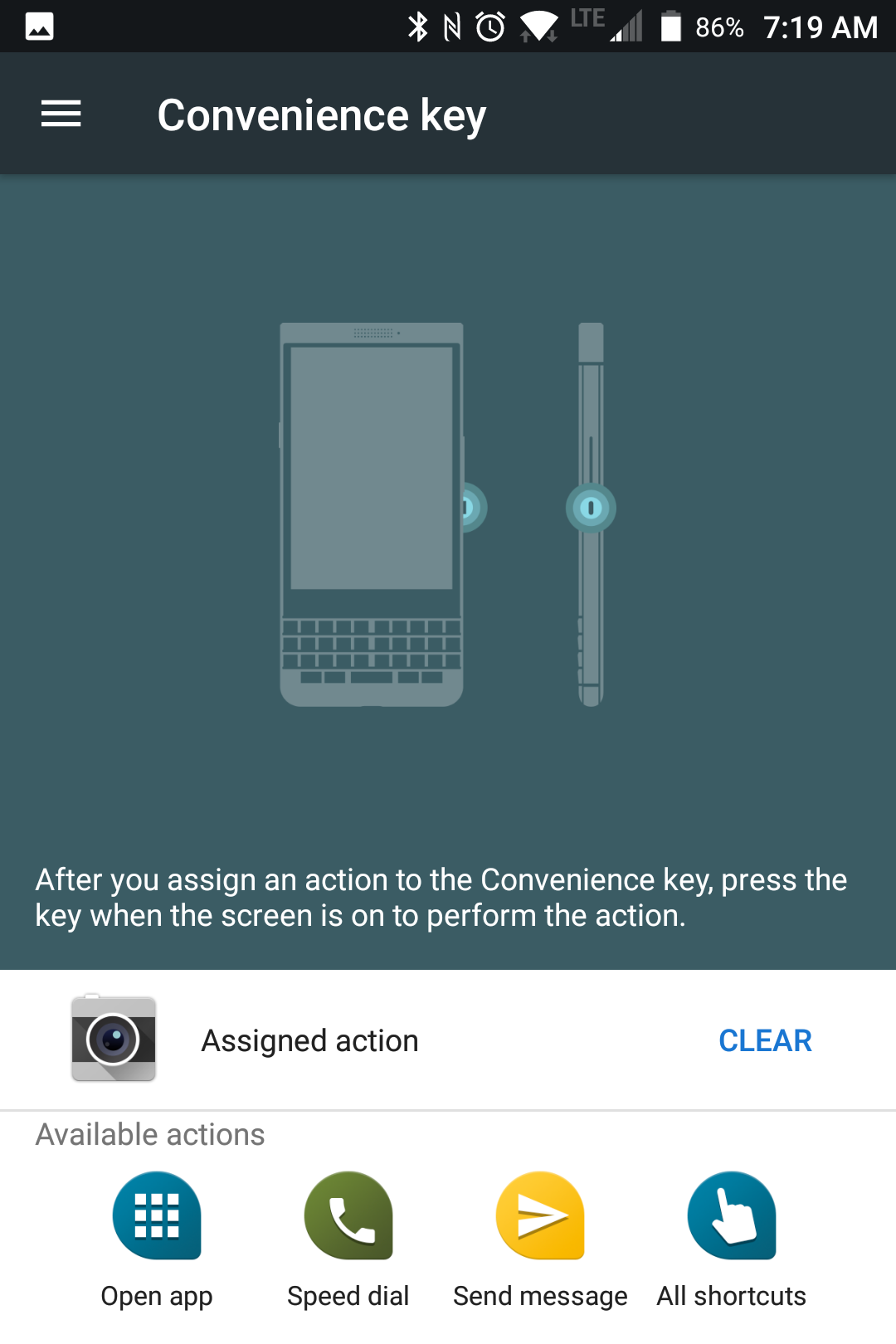 BlackBerry KEYone Review – Pushes All The Right Buttons screenshot blackberry keyone convenience key