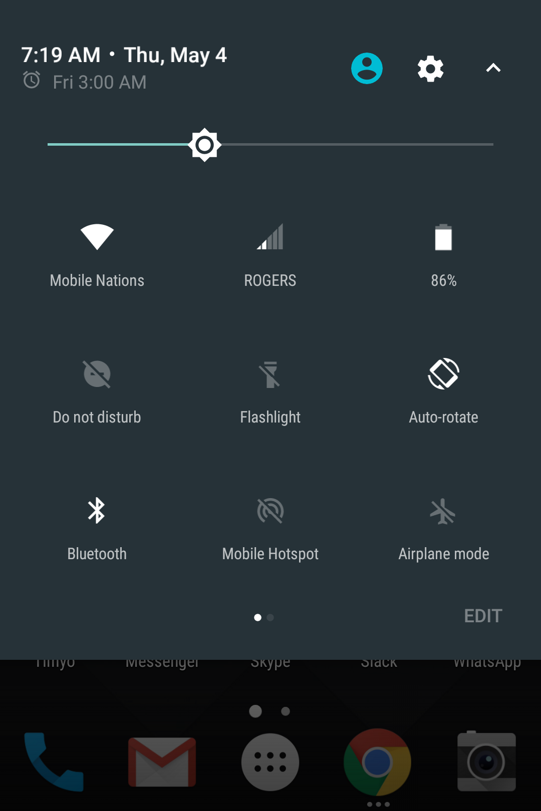 BlackBerry KEYone Review – Pushes All The Right Buttons screenshot blackberry keyone settings