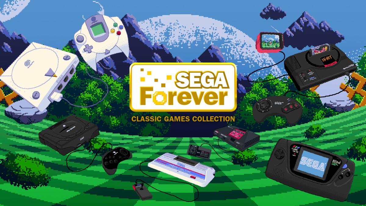 SEGA Forever brings Sonic the Hedgehog, Altered Beast, and more to mobile for free! sega forever   key art 1497525896