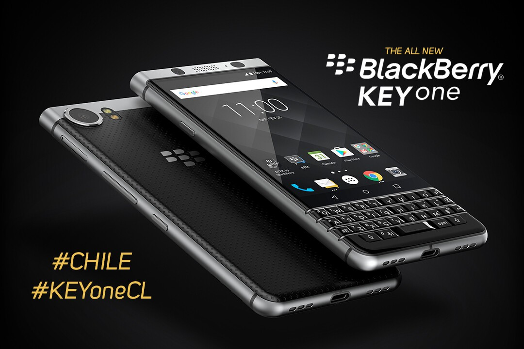 BlackBerry KEYone will be available in Chile starting in September | CrackBerry.com