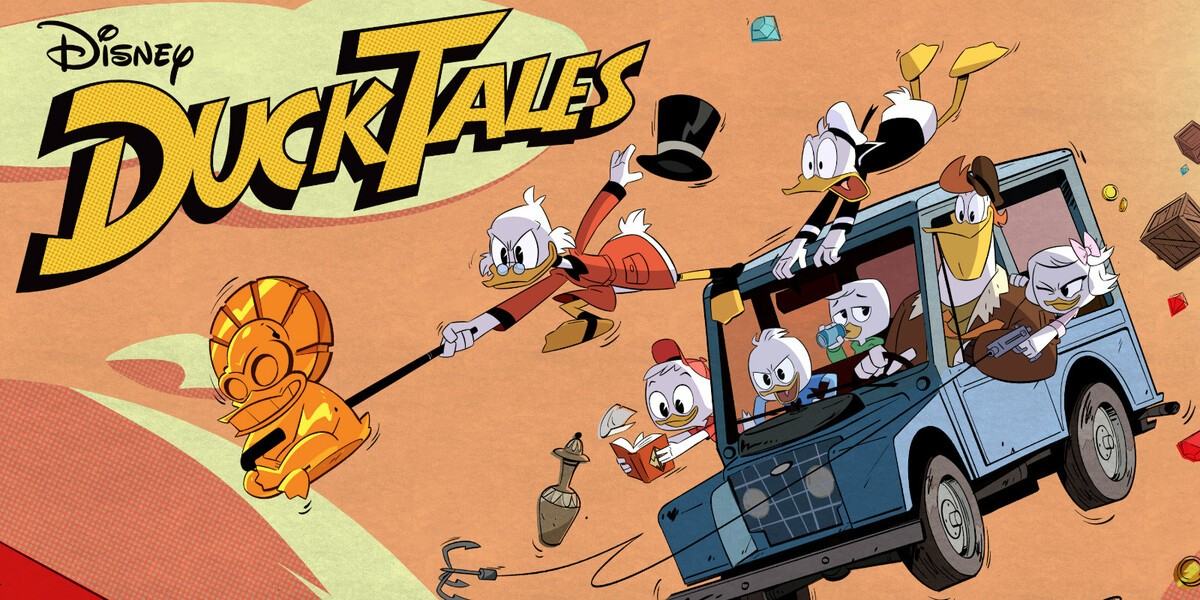 Grab the first episode of Disney's new DuckTales series from Google Play for free! ducktales 2017 reboot trailer