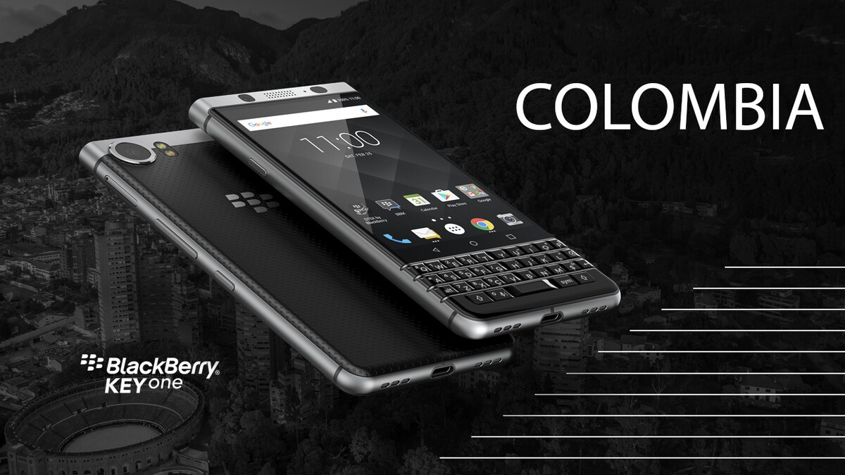 BlackBerry KEYone now available to order in Colombia BogotaLaunchEventTwitter Facebook 0