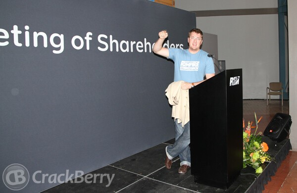 BlackBerry AGM!