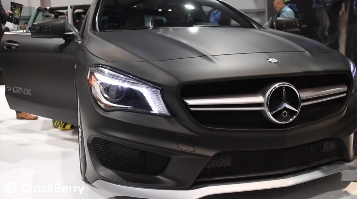 QNX Mercedes