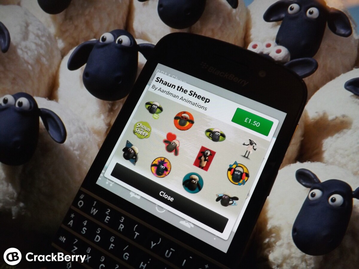 Shawn the Sheep BBM