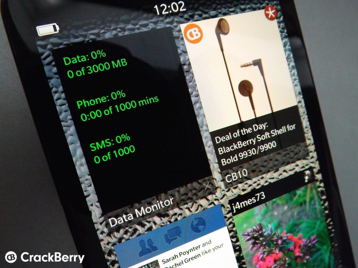 Data Monitor for BlackBerry 10