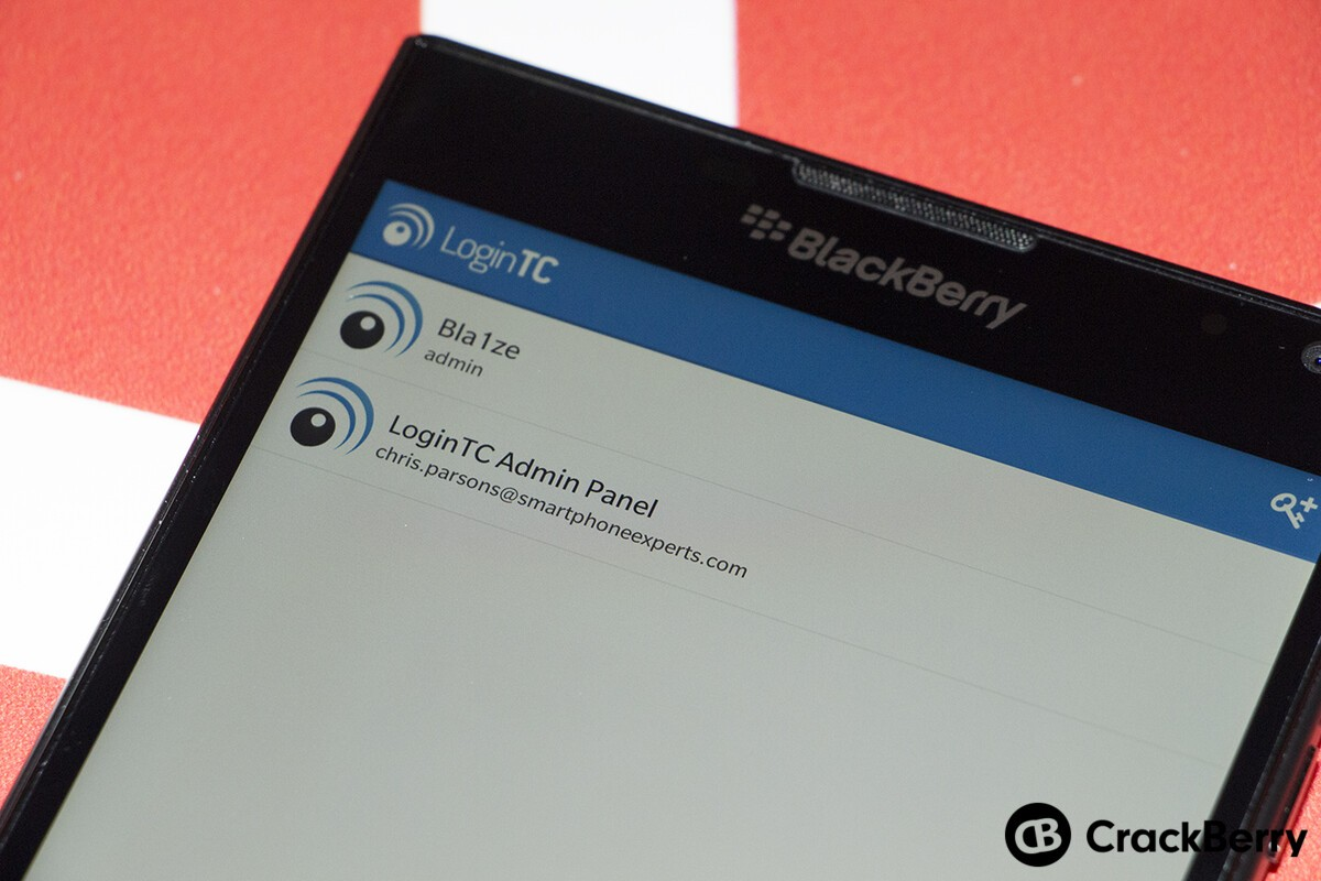 LoginTC two-factor authentication solution now available for BlackBerry 10