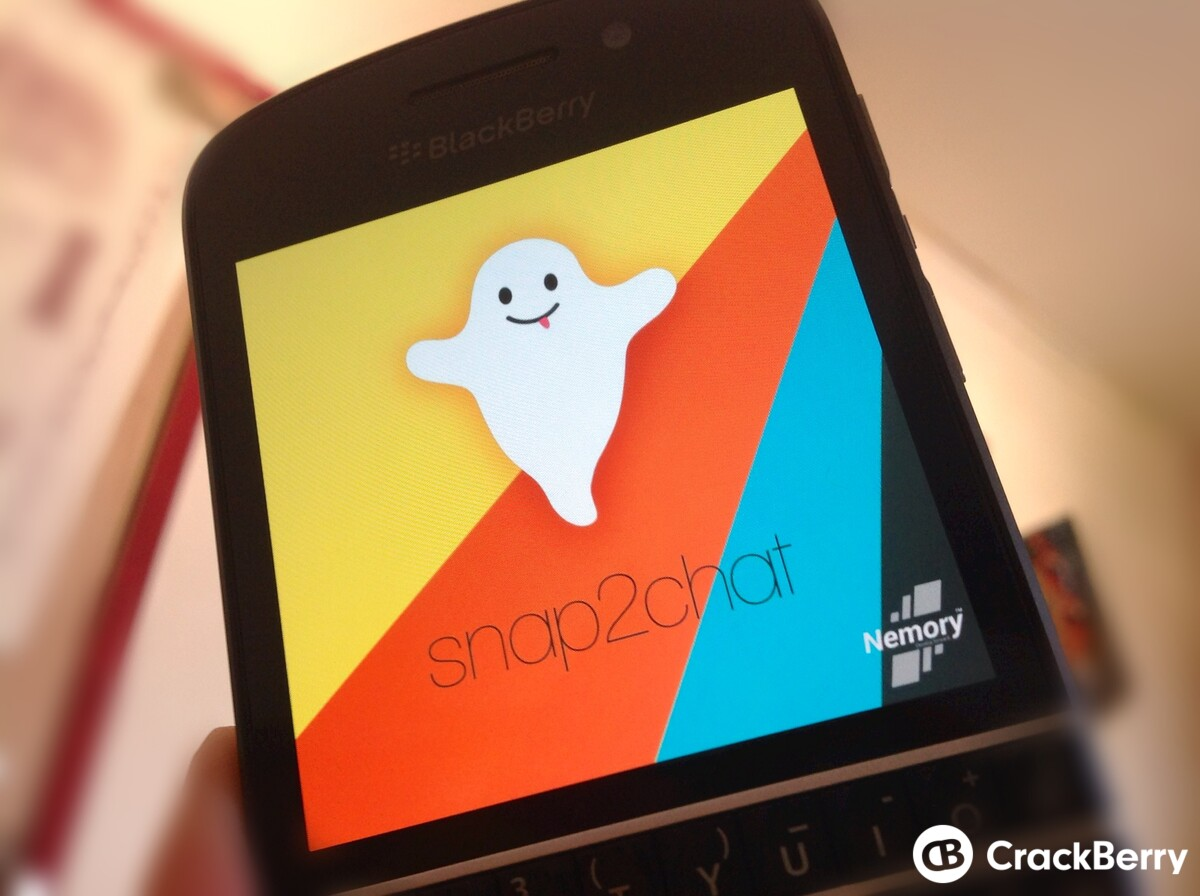 Snap2Chat get BlackBerry World approval, available to download now