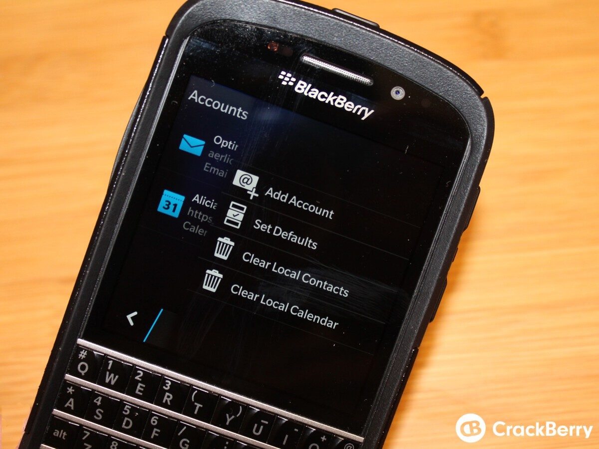 Delete All Local Contacts How To Install, Reorganize And Uninstall Apps On  Blackberry Q10