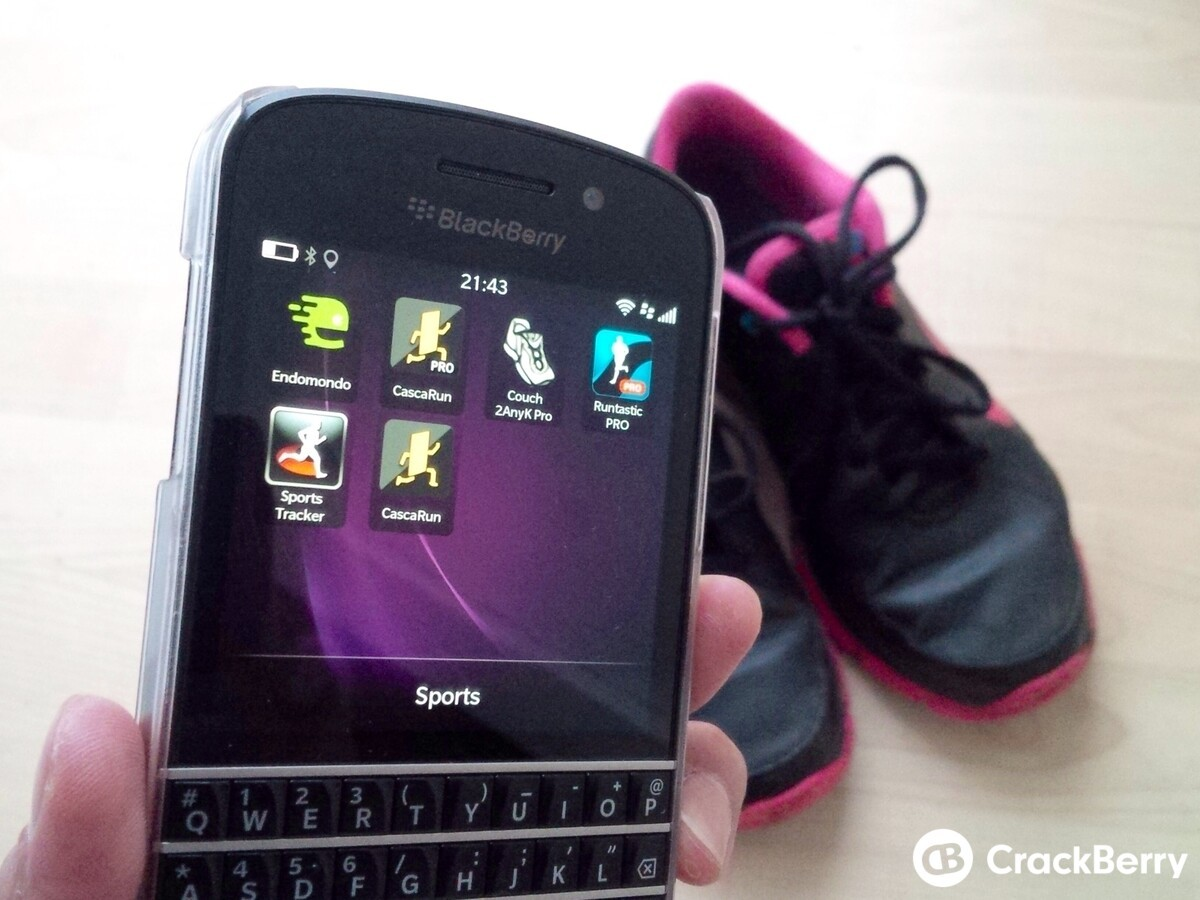 Best running apps for BlackBerry
