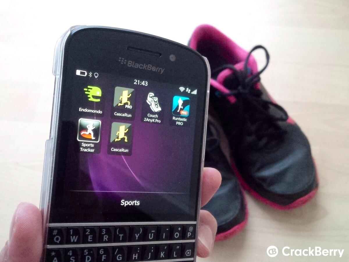 Best running apps for BlackBerry