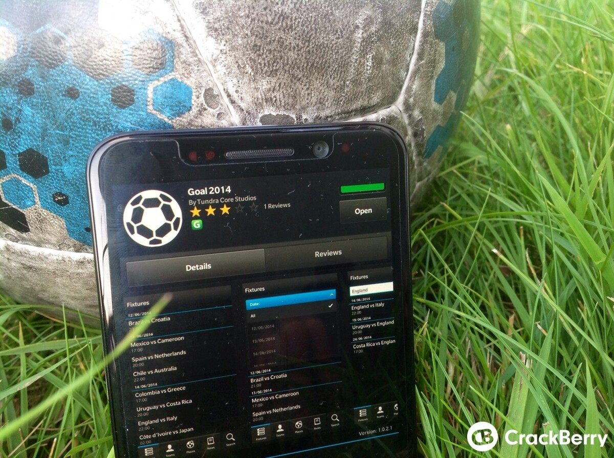 Goal 2014 - a World Cup app for fixtures, fun facts and more