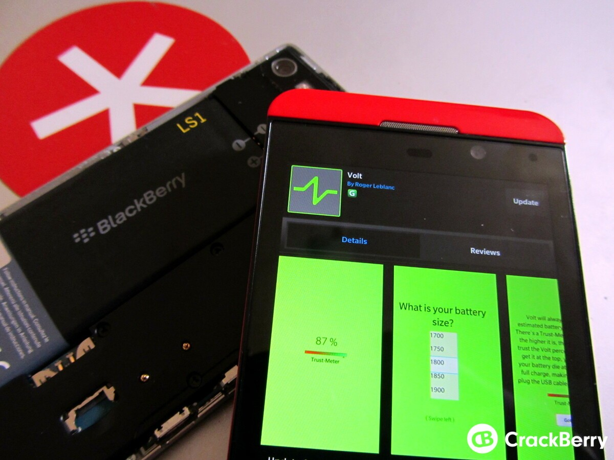Volt lets you track battery level and usage, 200 free copies available