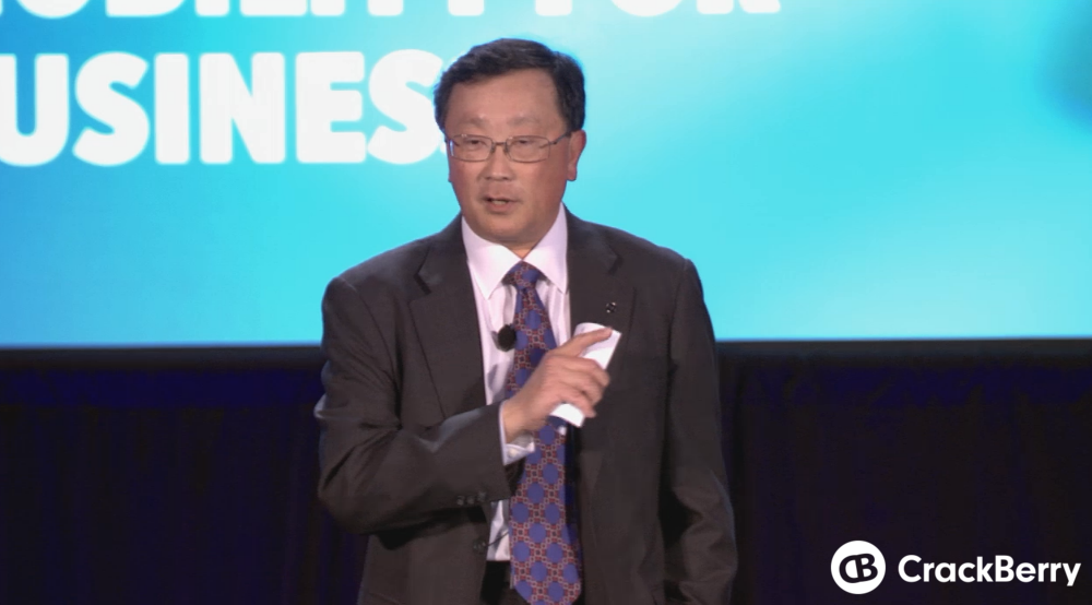 John Chen: This is a platform that is going to last us for a very, very long time