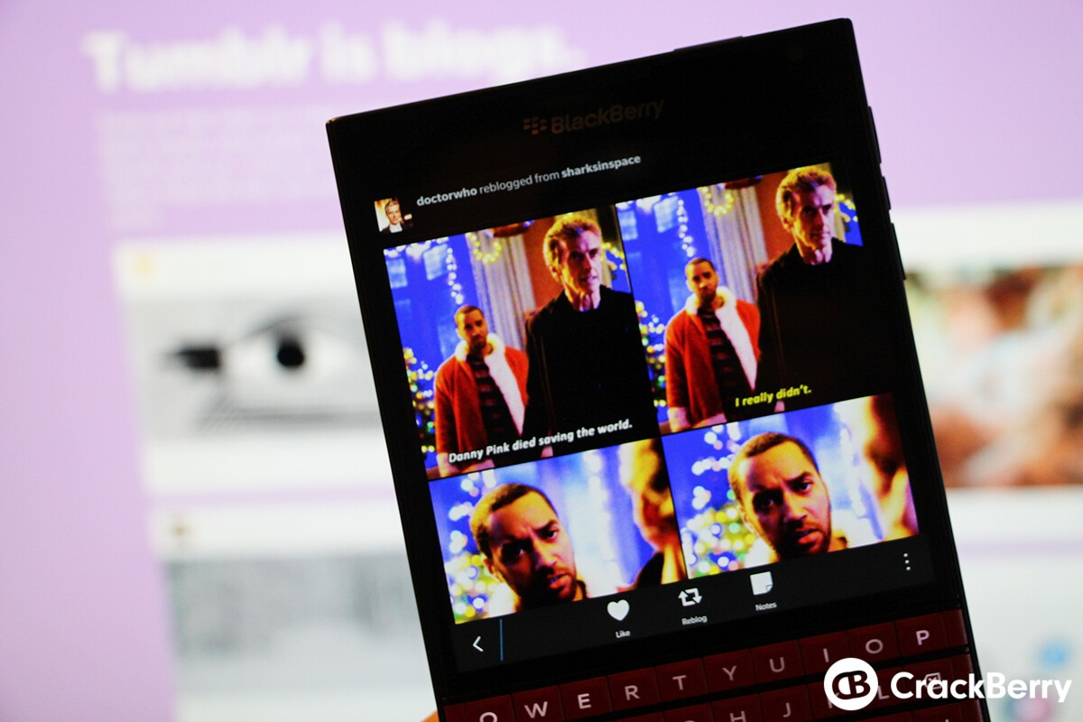 Bee - Native Tumblr client for BlackBerry 10 updated