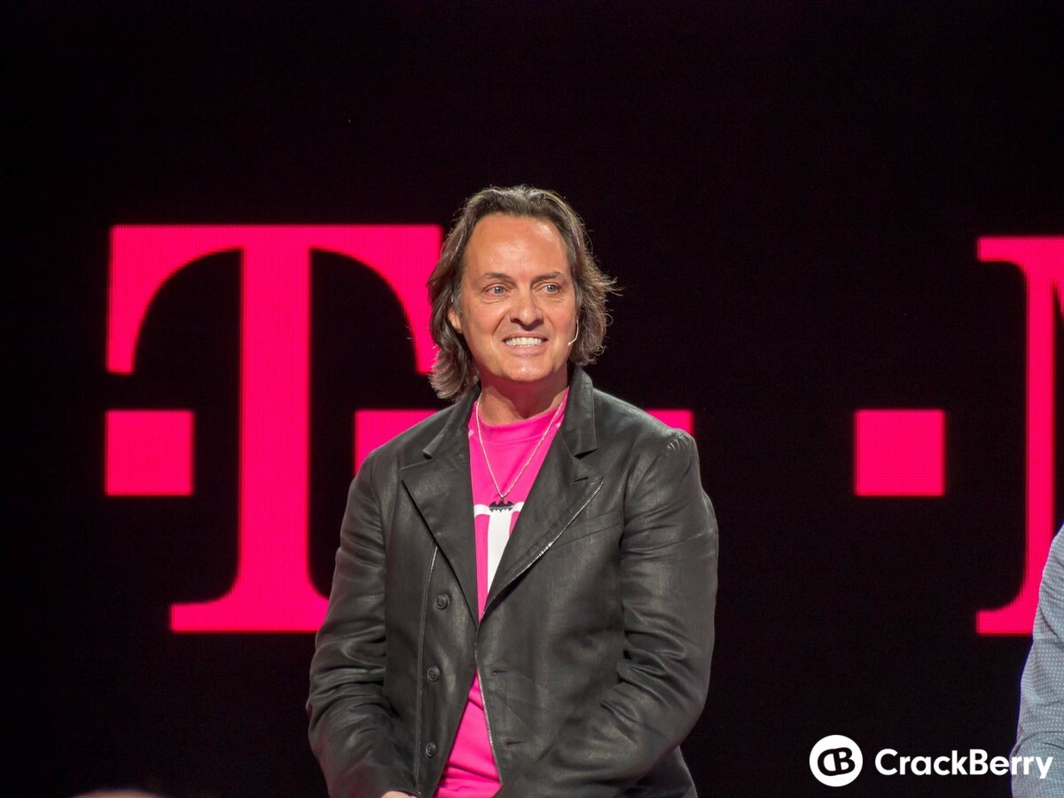 T-Mobile CEO says BlackBerry is 'on a comeback'
