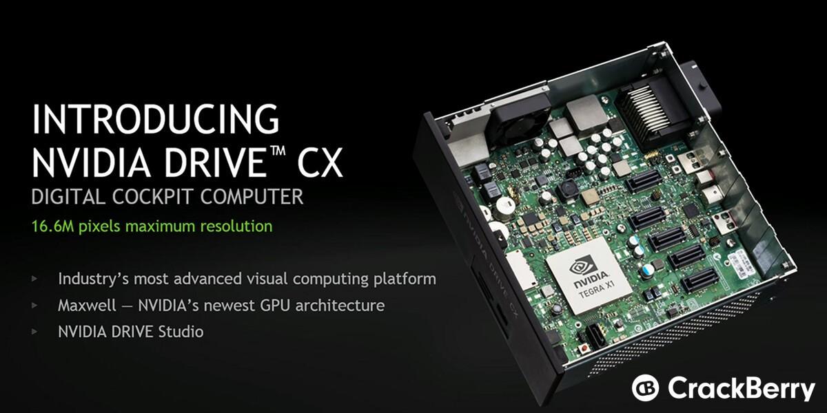 NVIDIA Drive CX is an all-new digital cockpit