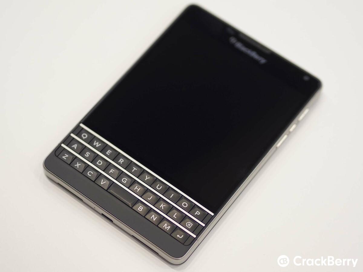 of the BlackBerry Passport Blackberry