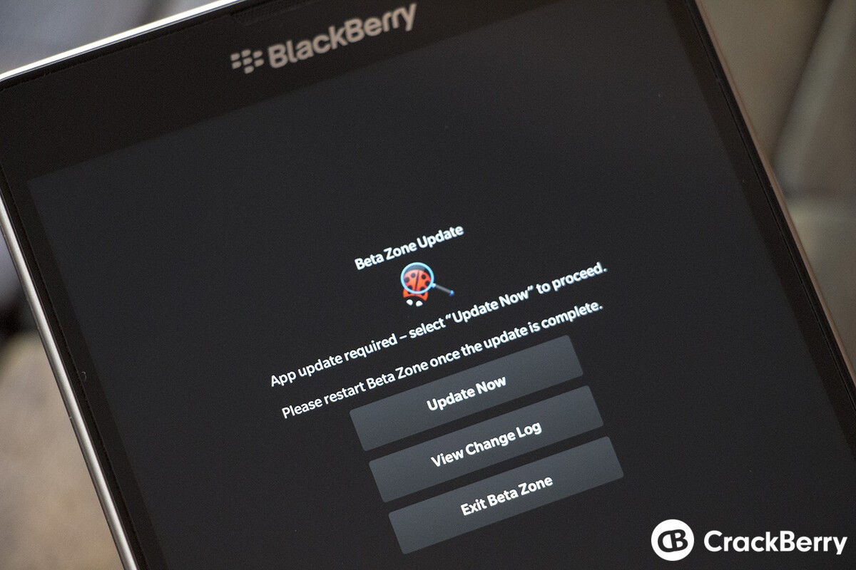 BlackBerry Beta Zone app updated once again to fix jumpy surveys